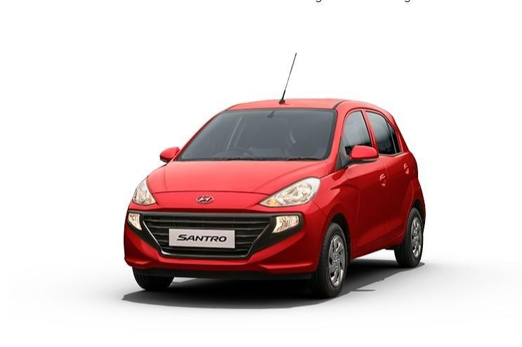 2021 Hyundai Santro Fiery Red