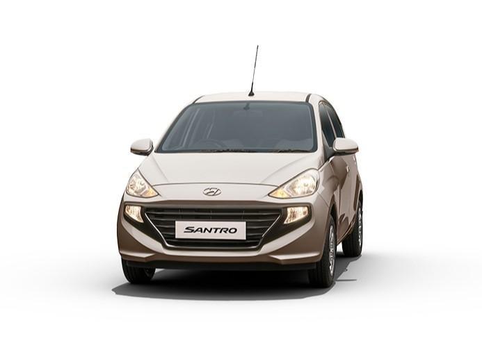 2021 Hyundai Santro Imperial Beige