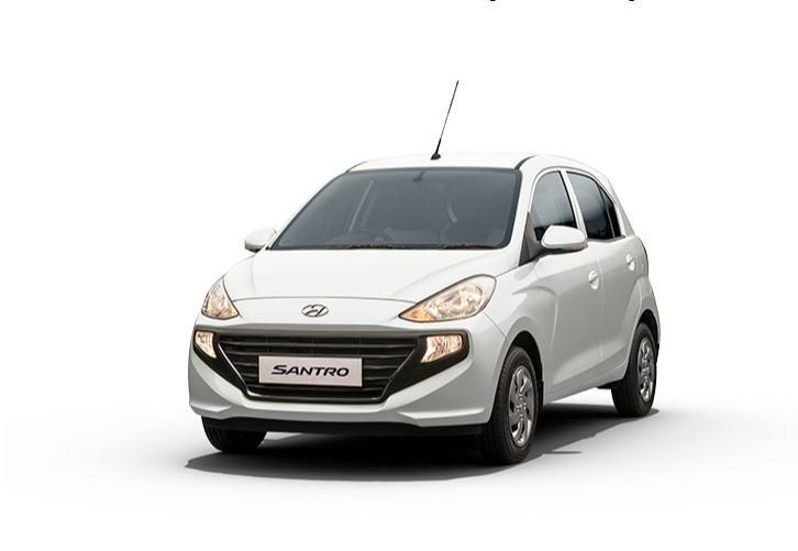 2021 Hyundai Santro Pollar White