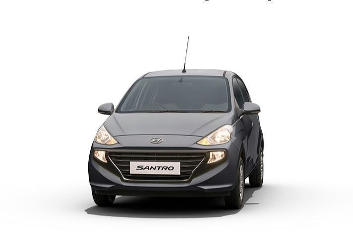 2021 Hyundai Santro Titan Grey
