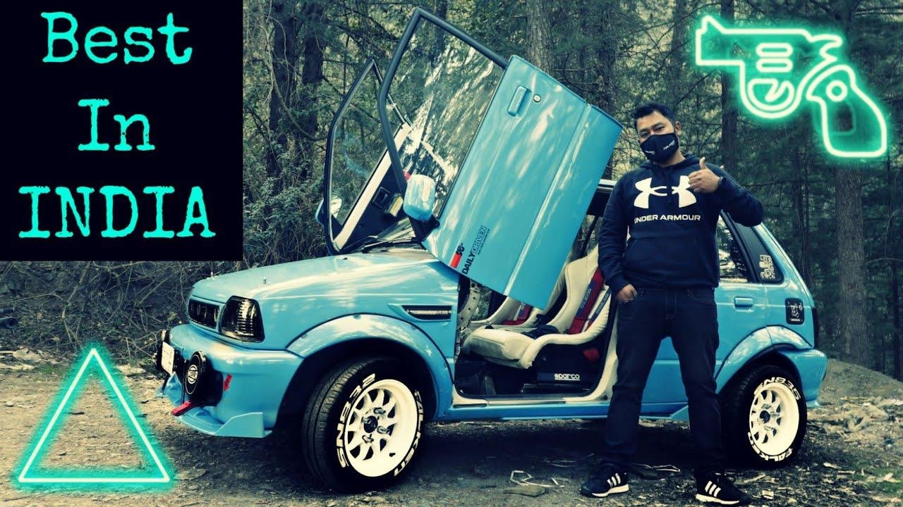 This Might Be The Most Extensively Modified Maruti 800 In The Country - VIDEO