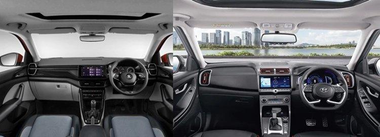 Here's A Detailed Comparison Of the New Skoda Kushaq Vs The Hyundai Creta