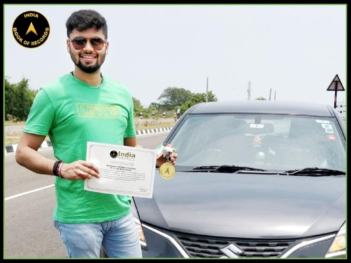 Maruti Baleno Breaks National Record, Covers Nearly 1900 Kms In 24 Hours