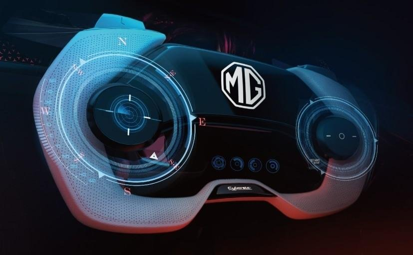 Now Digitalized Interior of MG Cyberster Revealed Ahead of Global Unveil on March 31