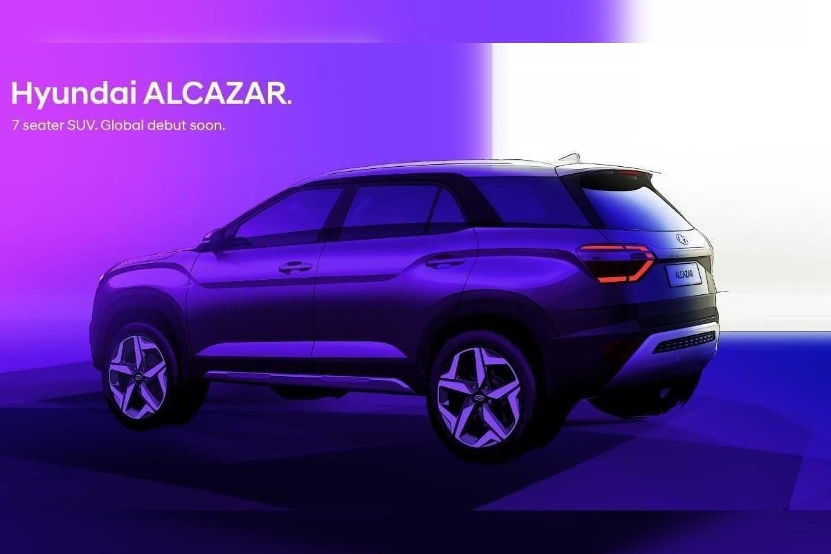 Rear-side-look-of-Hyundai-Alcazar