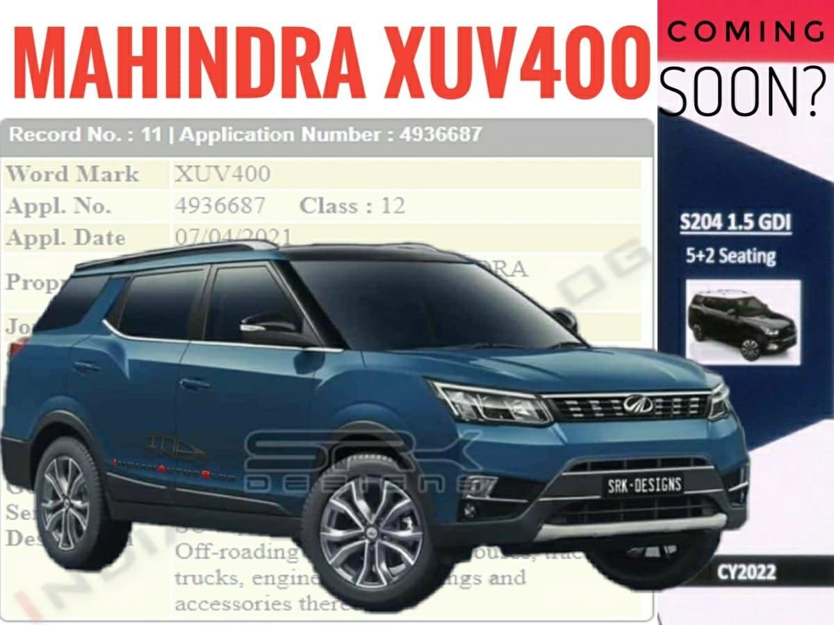 7-Seater Mahindra XUV300 To Be Named As XUV400, Launching Next Year