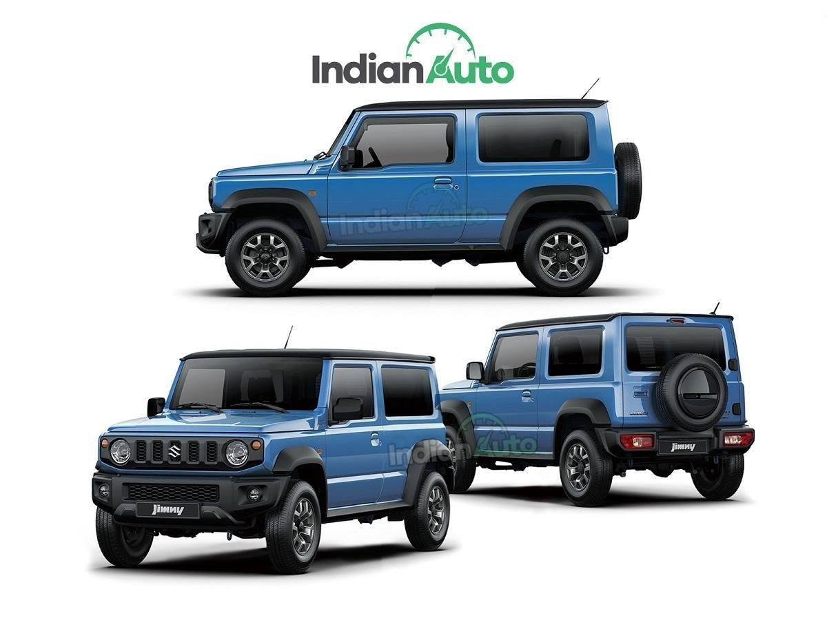 Check Out This Suzuki Jimny LWB Rendering Of Both 3 And 5-Door Variants