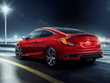 2019 Indian Honda Civic red colour rear running