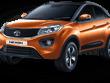 Tata Nexon India 2018 Exterior orange colour