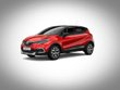 Renault Captur 2017 red flame with mercury roof colour
