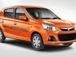 2019 Maruti Alto K10 orange side profile angle