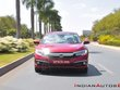 2019 Honda Civic red front in action