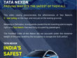Tata Nexon Keeps Occupants Safe Even On Being Crushed By A Giant Hoarding