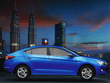 Hyundai elantra review blue side profile