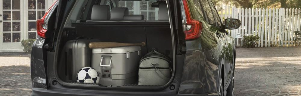Honda CR-V 2018 boot trunk