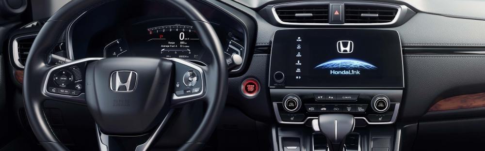Honda CR-V 2018 interior dashboard