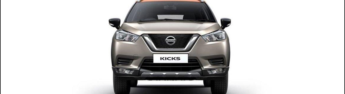 2019 Nissan Kicks front fasica