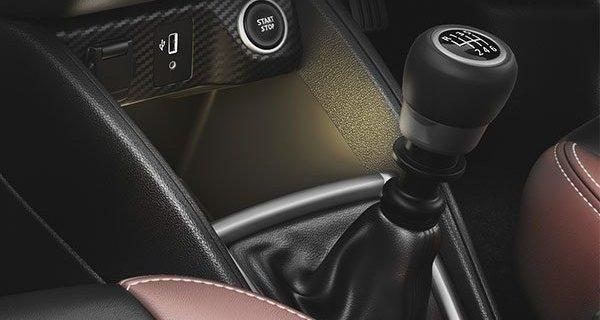 2019 Nissan Kicks gearshift knob