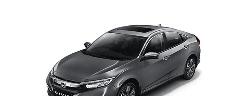 Honda Civic review Modern Steel Metallic