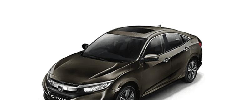 Honda Civic review Golden Brown Metallic
