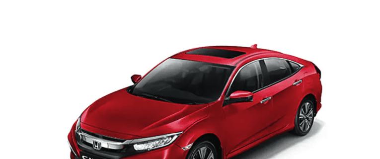 Honda Civic review Radiant Red Metallic