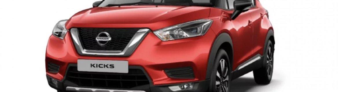 2019 Nissan Kicks Fire Red/ Onyx Black