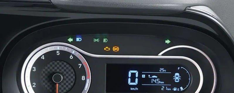Hyundai Grand i10 Nios review cluster