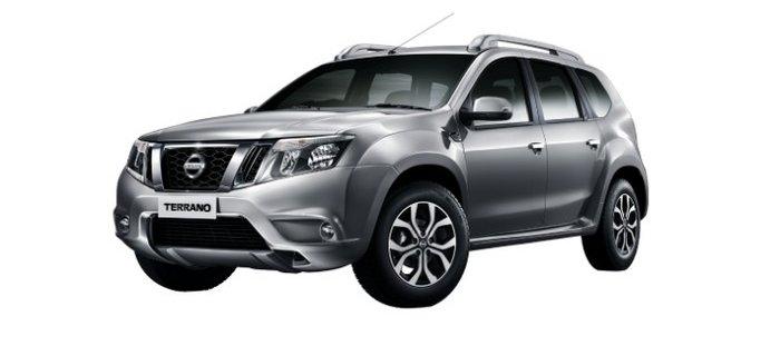 Nissan Terrano blade silver