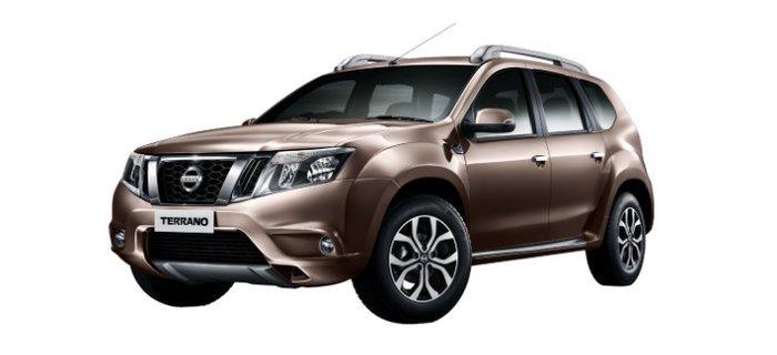 Nissan Terrano bronze grey