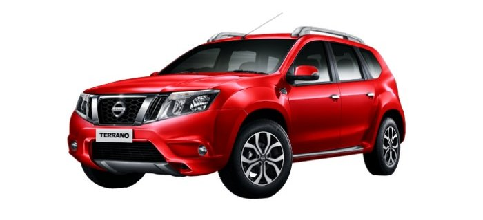 Nissan Terrano red fire
