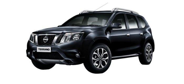 Nissan Terrano saphire black