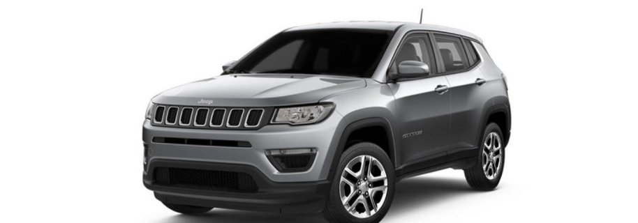 Jeep compass magnesio grey