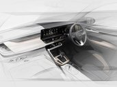 Kia SP2i Interior Sketches Revealed, Gets 10.25-inch Touchscreen