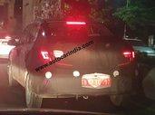 Hyundai Grand i10 Nios-based Sedan (Next-gen Xcent) Spotted Testing in India.