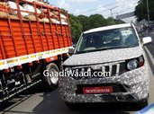 2020 Mahindra TUV300 Plus spied Once Again