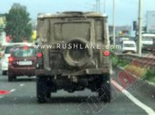 New-Gen Force Gurkha Spotted Testing Prior To 2020 Unveil
