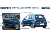 Hyundai Santro Anniversary Edition Priced at Rs 5.12 Lakh