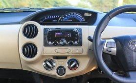 Toyota Platinum Etios 2018 dashboard