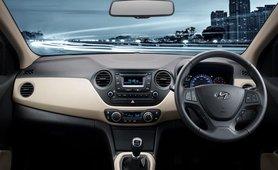 Hyundai Xcent 2018 dashboard