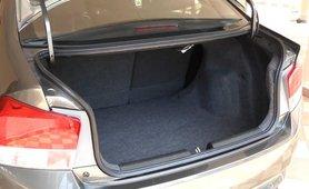Honda City 2018 boot space