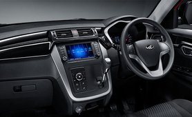 Mahindra KUV100 Interior dashboard
