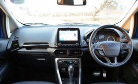 2017 Ford EcoSport petrol AT interior dashboard