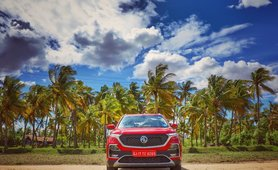 2019 MG Hector red front 1