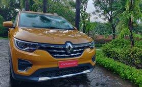 Renault Triber Front face