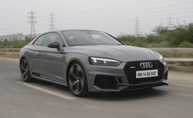 Audi RS5 Coupe Grey Exterior