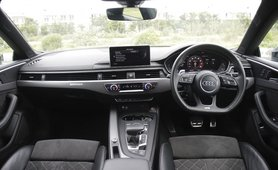 Audi RS5 Coupe Interior Dashboard