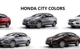 Honda City Review color option