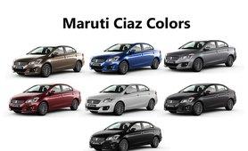 Maruti Ciaz review color option