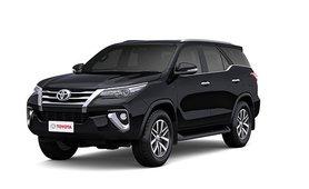 Toyota Fortuner Attitude Black