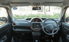 Maruti S-presso review dashboard